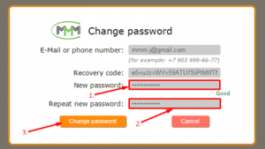 mmm change password